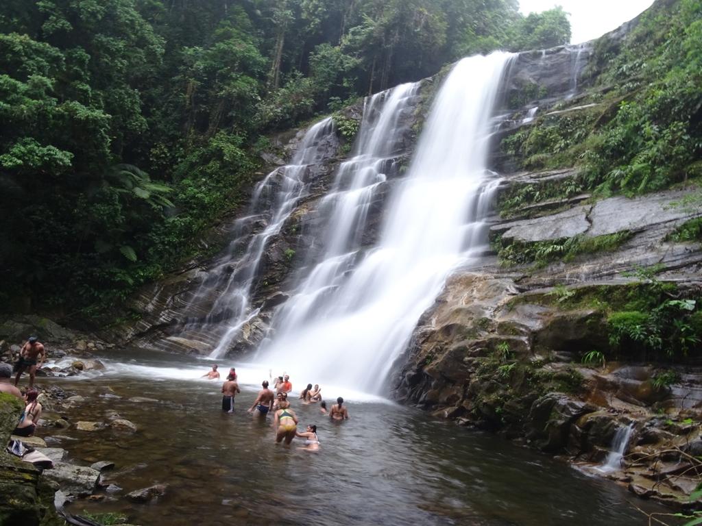 Cachoeira da melancia. Sertão de Taquari –Paraty – RJ.